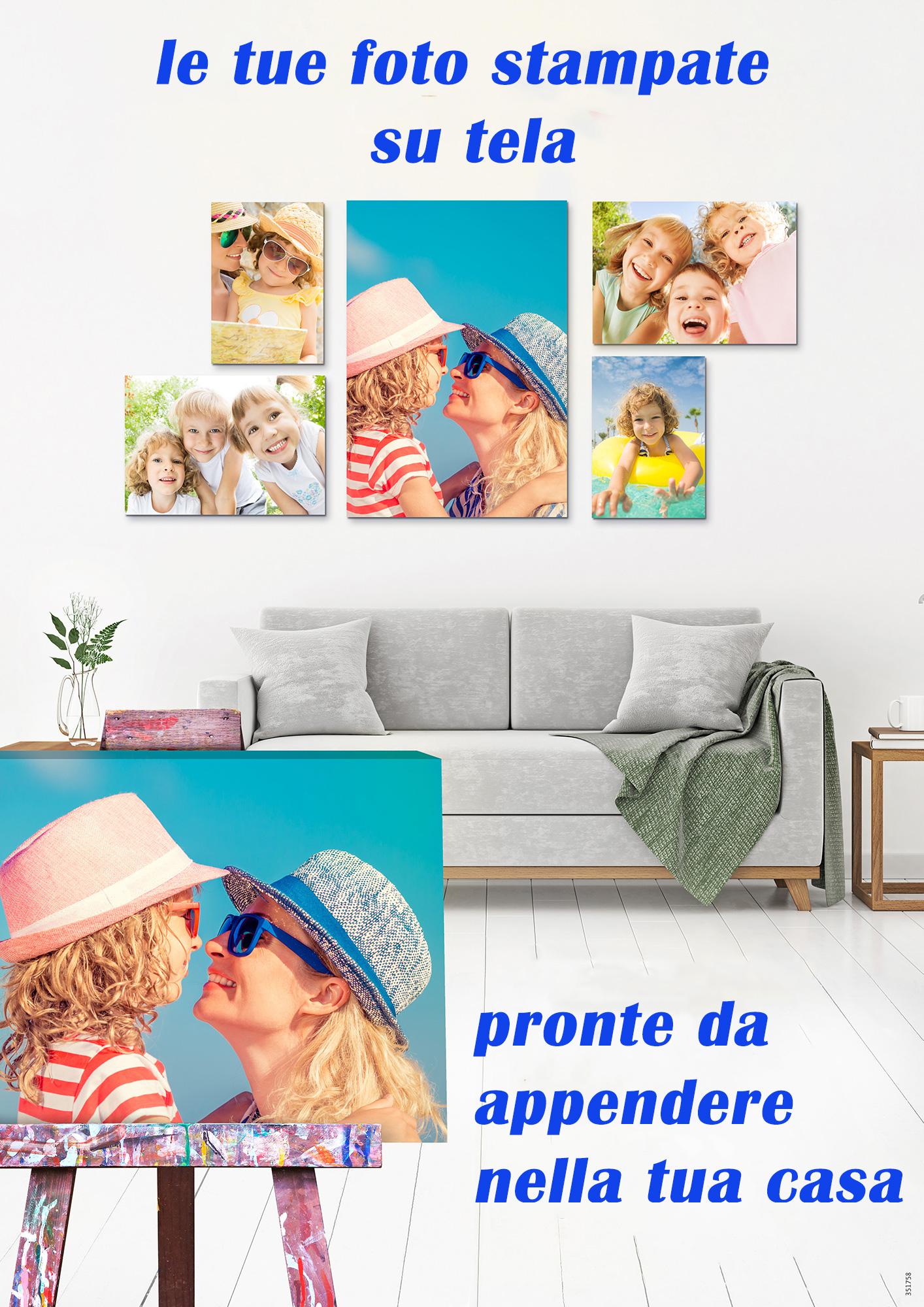 Arreda la tua casa con i tuoi scatti fotografici