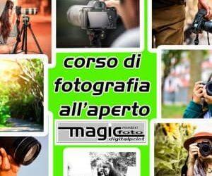 Corso di fotografia all'aperto